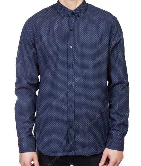 7951-5 Рубашка муж. S-2XL по 6