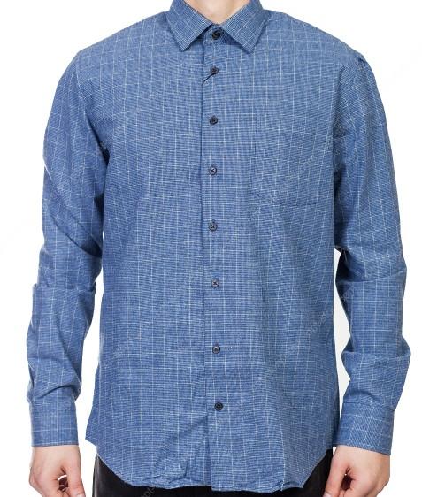 7954-2 Рубашка мужская (коттон) S-2XL по 6