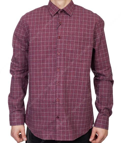 7954-3 Рубашка мужская (коттон) S-2XL по 6