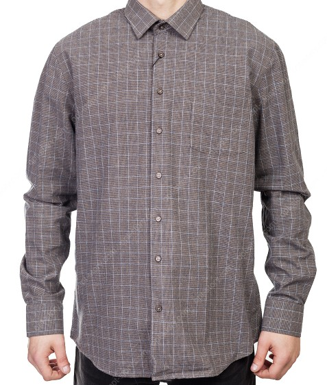 7954-4 Рубашка мужская (коттон) S-2XL по 6