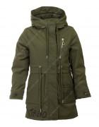 HL-023 хаки Куртка девочка 128-152 по 5