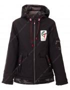 JKI-016 чёрн. Куртка мальчик 128-152 по 5
