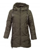 L-1910 хаки Куртка девочка 134-158 по 5