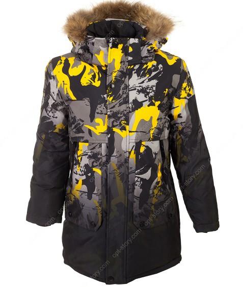 2181 желт. Куртка мальчик 140-164 по 5