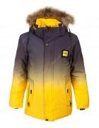 2189 желт. Куртка мальчик 128-152 по 5