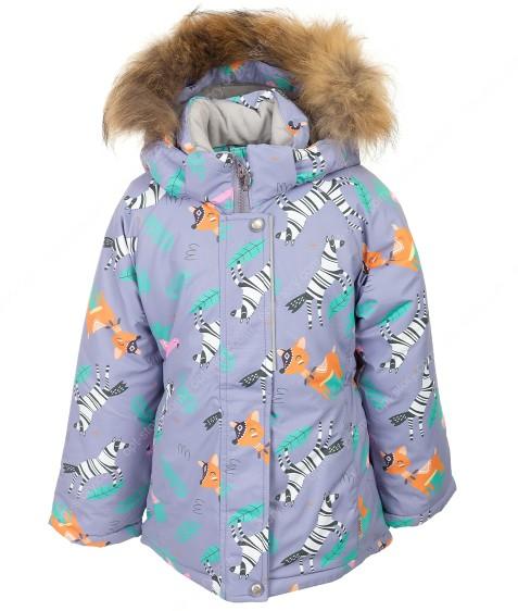 H23-038 фиолет термокуртка девочка 92-116 по 5