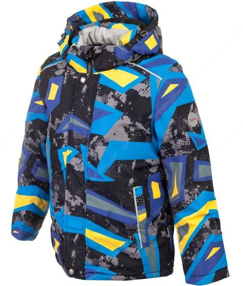 H36-011 желтый термокуртка мальчик 116-140 по 5