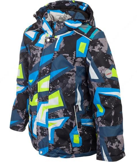 H36-011 зеленый термокуртка мальчик 116-140 по 5