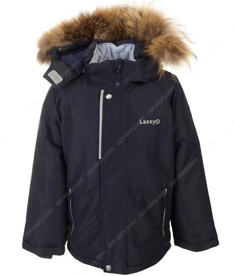 H38-02 т.син Куртка термо мальчик 92-116 по 5
