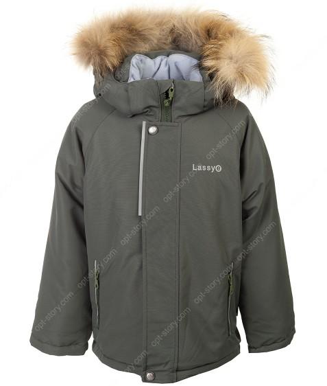 H38-02 хаки Куртка термо мальчик 92-116 по 5
