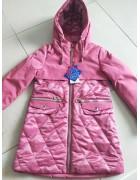 YS-1952 роз. Куртка девочка 122-146 по 5