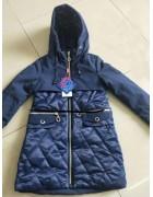 YS-1952 т.син Куртка девочка 122-146 по 5