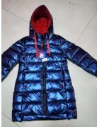 YS-1982-1 т.син Куртка девочка 116-140 по 5