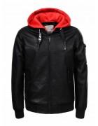 BPY-7446 Куртка мальчик эко-кожа 110-160 24/6