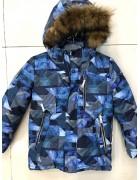 H817 т.син Куртка мальчик 116-140 по 5