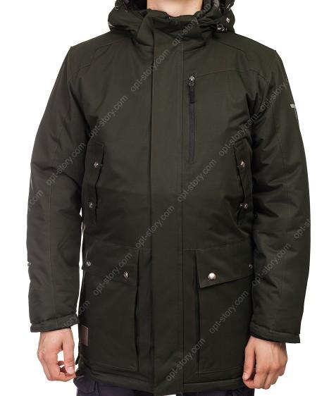 M-07/32589  хаки. Куртка мужская M-3XL по 5