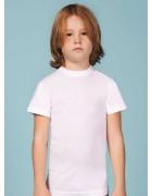 Футболка для мальчика белая размер 4 по 3 штуки 1503