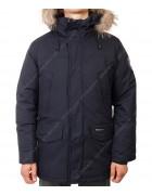 23967 т.син.Куртка мужская (аляска) мех  48-56 по 5