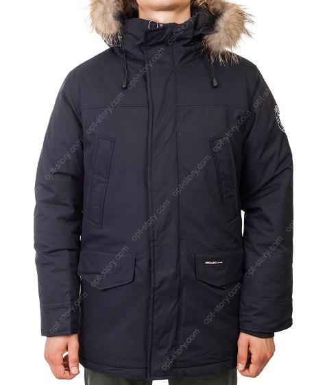 M082#01/23967 т.син.Куртка мужская (аляска) мех  48-56 по 5