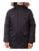 23968 черн.Куртка мужская (аляска) мех  48-56 по 5