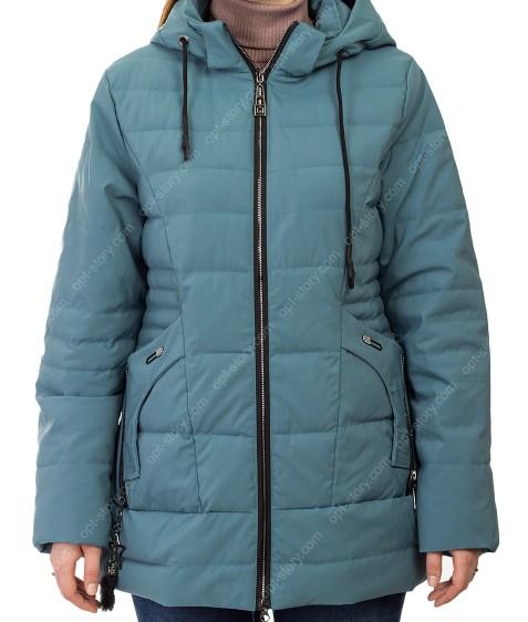 D-8981 зел Куртка женская 50-58 по 5