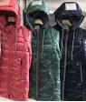 HL-223 зел. Куртка девочка 128-152 по 5