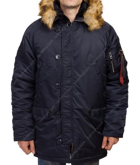 AL-777 NL-69 син. Куртка мужская L-4XL по 5