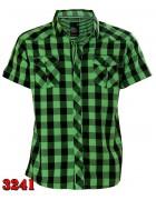 3241 NATURE Рубашка  мужская M-3XL по 5шт (3XL)