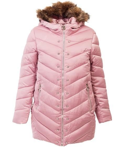 B-41 пудра Куртка девочка 116-140 по 5