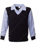 55004 Рубашка обманка 5-14 по 5
