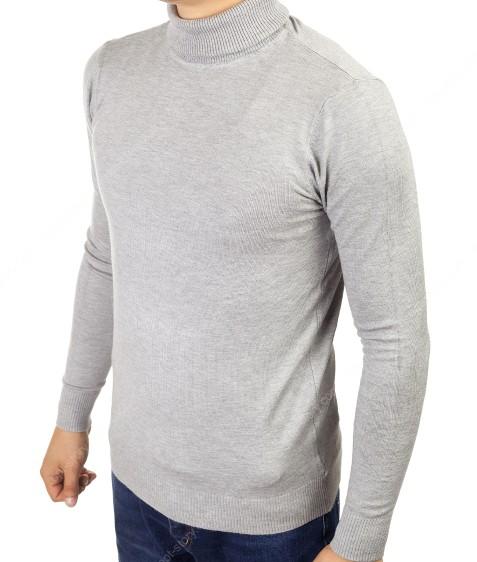YY02-3 серый Гольф мужской норма S-2XL по 5шт
