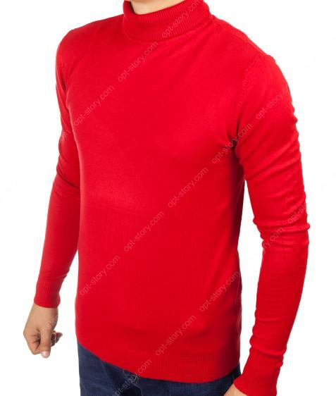 YY02-6 красный Гольф мужской норма S-2XL по 5шт