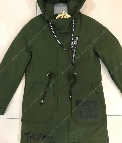 HL023 Куртка девочка 128-152 по 5