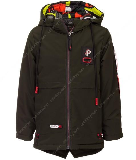 JKI-012 хаки Куртка мальчик 110-134 по 5