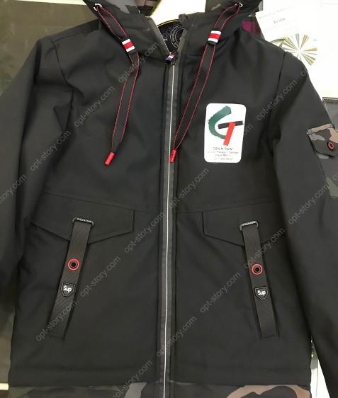 JKI-016 хаки Куртка мальчик 128-152 по 5