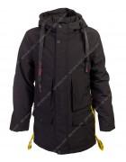 B972-1 черн. Куртка мальчик 140-164 по 5