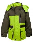 B-7705-1 зелен. Термокуртка Reimo мальчик 110-134 по 5