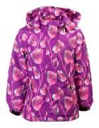 H916 фиолет. Куртка девочка 110-134 по 5