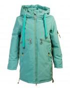 HL-203 зелен. Куртка девочка 140-164 по 5