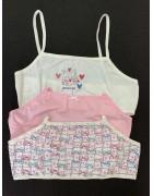 67500-109 Топ для девочки в упаковке 3 шт. Размер 12