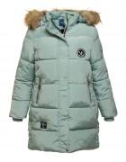 507 бирюз Куртка девочка 128-152 по 5