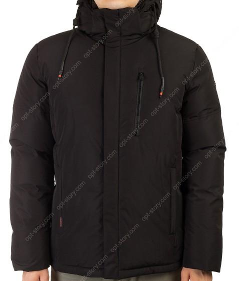 70625 черный Куртка мужская рр50