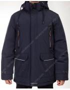 9312#1 синий Куртка мужская Winter 48-58 по 6
