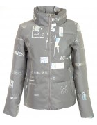 960# серый Куртка женс. M-2XL по 4