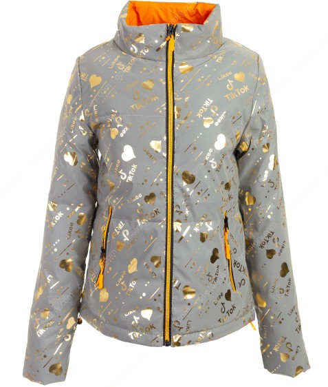 6066-1 золото Куртка женс. M-2XL по 4