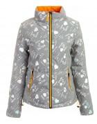 6066-1 серебро Куртка женс. M-2XL по 4