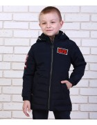 81367 т.син Куртка мальчик 116-146  по 6