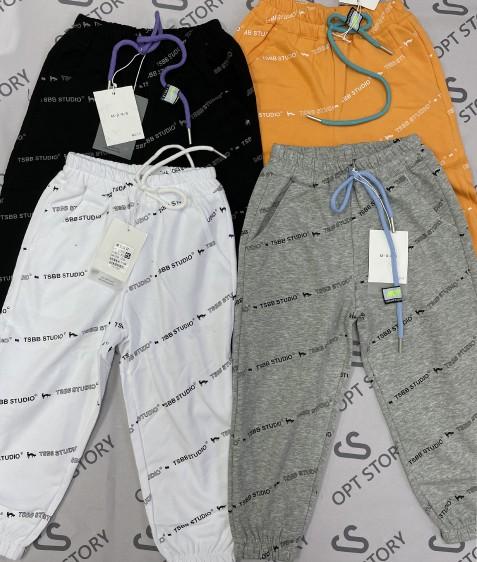 21Y01 серый Спорт штаны дев 5-13 по 5