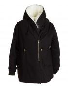 8892 черн  Куртка женская One Size по 3