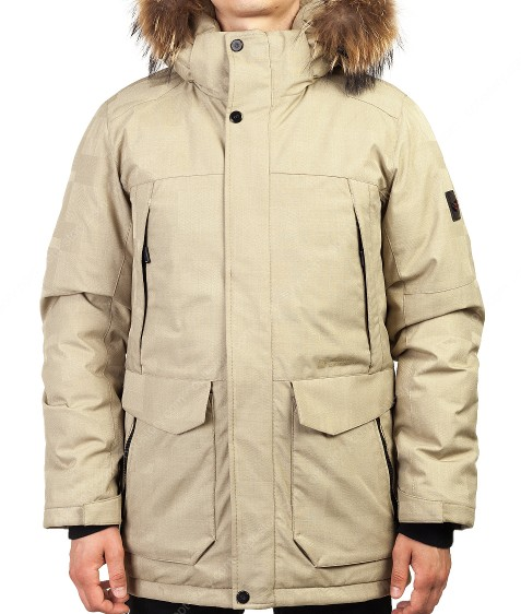 2050 беж. Куртка мужская 46-54 по 5